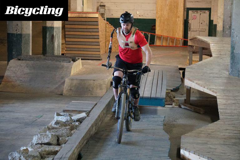 One Armed Mountain Biker – Charles Scott McDonald