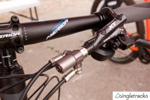 OutBraker Converts Hydraulic Disc Brakes to Single Lever System